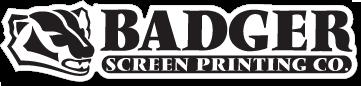 Badger Screen Printing logo